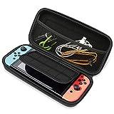TechRise Nintendo Switch ケース 小物収納可能 防汚 耐衝撃 任天堂Switchカバー EVAケース ニンテンドースイッチ保護カバー