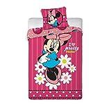Disney Minnie Mouse ディズニー ミニー・マウス シングル 布団カバー+枕カバー セット 0432 [並行輸入品]