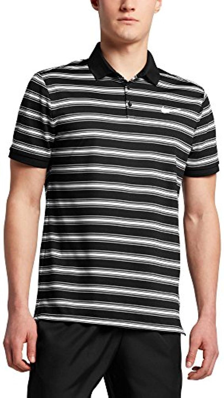 免疫修士号いつ[ナイキ] メンズ シャツ Nike Men's Court Dry Striped Tennis Polo [並行輸入品]
