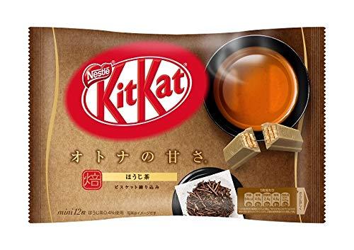 ネスレ日本 キットカット ミニ オトナの甘さ ほうじ茶 12枚 ×12袋