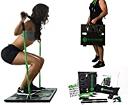 BodyBoss Home Gym 2.0 - Full Portable Gym Home Workout Package + 1 Set of Resistance Bands - Collapsible Resis