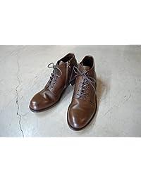 PADRONE(パドローネ) メンズ CHUKKA BOOTS with SIDE ZIP チャッカブーツ サイドジップ / BAGGIO バッジオ DEEP BROWN ディープブラウン PU7358-1205-13D