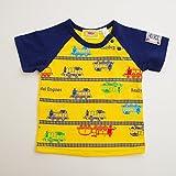 きかんしゃトーマス 半袖Tシャツ 80cm/90cm/95cm(88307) (90cm, イエロー)