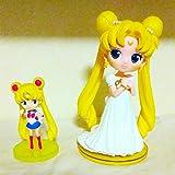 Qposket セーラームーン フィギュア 人形 2体 セット セレニティ 人形 ぬいぐるみ / ブライス プーリップ 当時物レア 限定 非売品