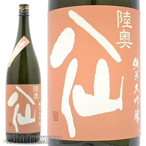 【日本酒】青森県 八戸酒造 陸奥八仙 ( むつはっせん ) 華想い50 純米大吟醸 1800ml【クール便発送】