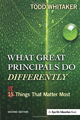 Download What Great Principals Do Differently 1596672005