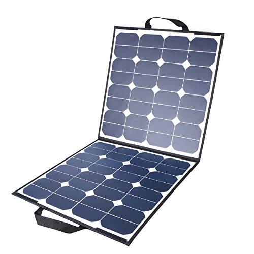 ソーラーパネル 5.5A 18V 100W MOHOO 太陽光パネル 太陽光発電パネル Sunpower 折りたたみ式 単結晶 フレキシブル 超薄型 ソーラーチャージャー MC4接続 SP-4