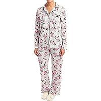 (ローラ アシュレイ) Laura Ashley レディース インナー・下着 パジャマ・トップのみ Printed Pajamas - Long Sleeve [並行輸入品]