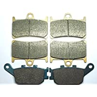 Master Chen Front Rear Brake Pads Brakes for Honda GL 1800 1800A ABS Goldwing VFR 800 A FA261FR MC0105-PAD