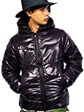 (エイト) 8(eight)12color 中綿 ダウンジャケット ナイロン ブルゾン アウター 防寒 アウトドア パープル L