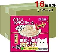 チャオ ちゅ~る まぐろ海鮮 ミックス味 20本×16袋