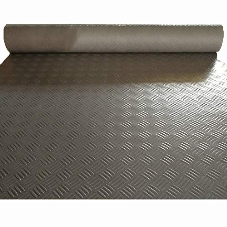 PVCゴム滑り止めマット、プラスチックフロアマット、防水および耐摩耗カーペット CONGMING (色 : Gray, サイズ さいず : 0.9m*5m)