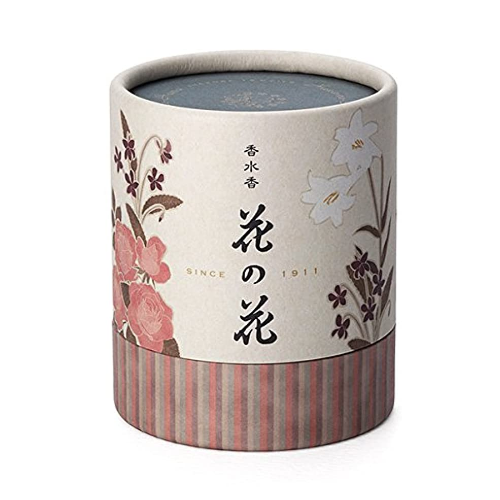 富鍔容器日本香堂 香水香 花の花 3種入 うず巻12巻入 香立付( 30003)