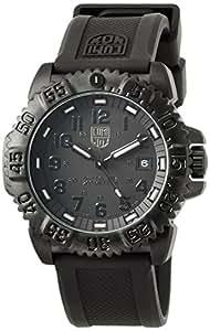 [ルミノックス]LUMINOX 腕時計 ネイビーシールズ カラーマーク 日本限定 ブラックアウト 3051BlackOut メンズ [正規輸入品]