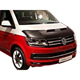 ボンネット HOOD BRA Front End Nose Mask for Volkswagen VW T6 since 2015 Multivan Transporter CARAVELLE Bonnet Bra STONEGUARD PROTECTOR TUNING
