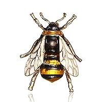 ファッション ナチュラル 昆虫 アニマル エナメル ブローチ ハチの巣 スパイダー 合金ピン ヴィンテージジュエリー 女性用