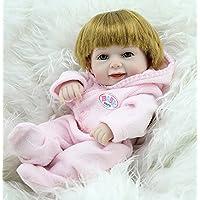 Nicery 生まれ変わった赤ちゃん人形おもちゃハードシミュレーションシリコンビニール11インチ28cm防水おもちゃとギフト Reborn Baby Doll RD28B007G