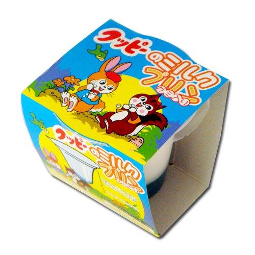 クッピーのミルクプリン 名古屋土産に クッピーラムネ味のプリン おみやげに