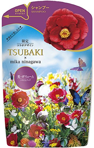 TSUBAKI(ツバキ) ボリュームタッチ シャンプー つめかえ用 蜷川実花デザイン 345ml