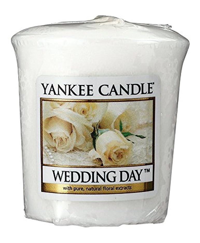ヤンキーキャンドル サンプラー お試しサイズ ウェディング 燃焼時間約15時間 YANKEECANDLE アメリカ製