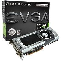 エヴガ GeForce GTX 780 Ti、 3GB、3072MB、GDDR5 384ビット、デュアルリンクDVI-I、DVI-D、 HDMI、DP、 SLI対応グラフィックスカード(03G-P4-2881-KR)グラフィックスカード 03G-P4-2881-KR