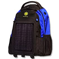 SolarGoPack 10K、バックパック、ソーラー充電モバイルデバイス、Take Your電源with You, 12, 000mAhリチウムイオン電池–Stay Charged my Friends!!