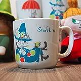 山加商店 Yamaka ムーミン Moomin citron glaces オリジナル マグカップ / フィギュア セット スナフキン