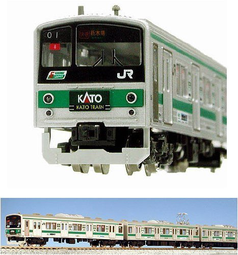 Nゲージ 車両セット 205系 埼京線色「KATO TRAIN」 (10両) [特別企画品] #10-481