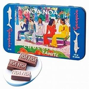 ノアノア(noanoa) チョコレート 1缶 【タヒチ 海外土産 輸入食品 スイーツ】