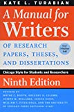 A Manual for Writers of Research Papers, Theses, and Dissertations: Chicago Style for Students and Researchers (Chicago Guides to Writing, Editing, and Publishing) 画像