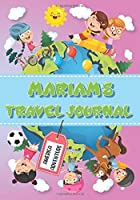 Mariam's Travel Journal: Personalised Awesome Activities Book for USA Adventures
