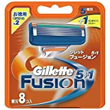 ジレット 髭剃り フュージョン 5+1 替刃8個入 ¥ 2,425