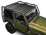 (バリケード) Barricade ルーフラック テクスチャードブラック Jeep Wrangler TJ (無制限を除く) 1997-2006