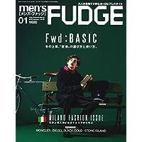 men's FUDGE -メンズ ファッジ- 2018年1月号 Vol.99