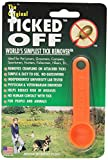 Ticked Off DTO72212 Toff Tick Remover, Orange by Ticked Off