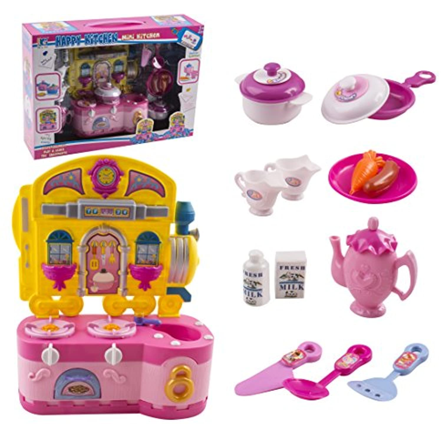 Mini Doll Kitchen Accessories Dining Dinnerware Doll Accessories for Dolls Kitchen Toy Playset