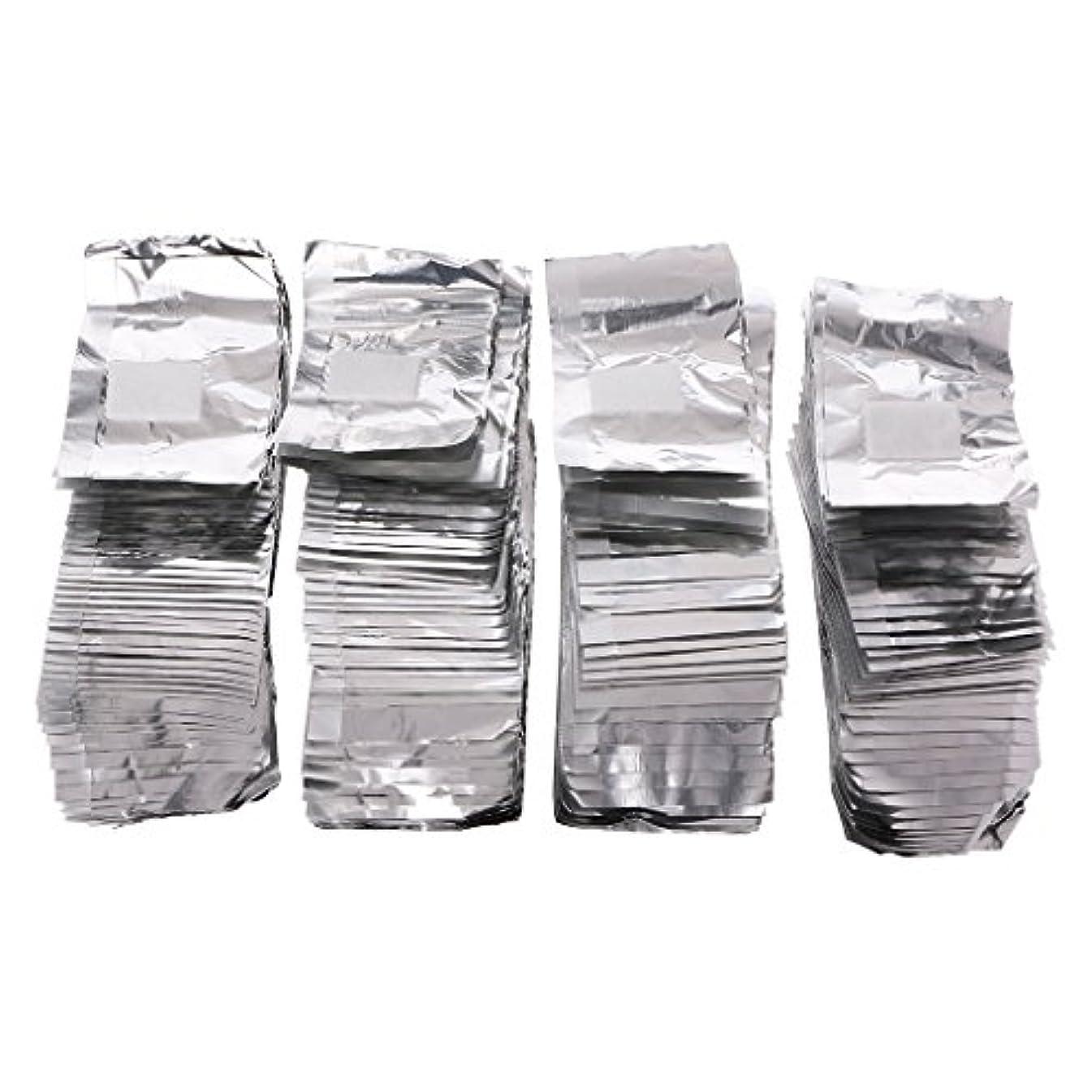 韓国正確な見捨てるジャッキーネイルアートアンロードスズ箔200Pcピースアルミホイルネイルアートソークオフアクリルジェルポリッシュネイルラップリムーバー
