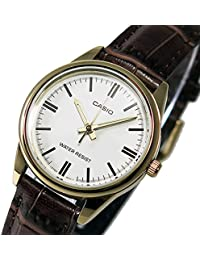 ba9af05703 カシオ CASIO クオーツ レディース 腕時計 LTP-V005GL-7A ホワイト ...