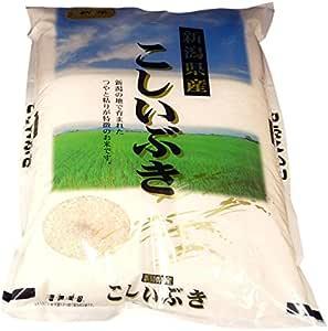 新潟産こしいぶき 米屋の蔵出し米 玄米2kg 袖山商店