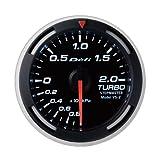 日本精機 Defi (デフィ) メーター【Racer Gauge】52φ ターボ計 (ホワイト) DF06506