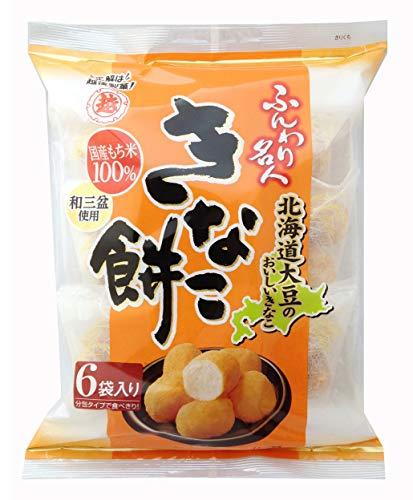 越後製菓 ふんわり名人 きなこ餅 75g×6袋