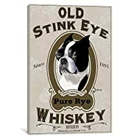 "iCanvasART古いStink Eye垂直by Brian Rubenackerキャンバス印刷 18"" x 0.75"" x 26"" 12045"