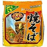 減塩 食品 無塩製麺 イトメン 減塩 焼きそば 87g×5食入り