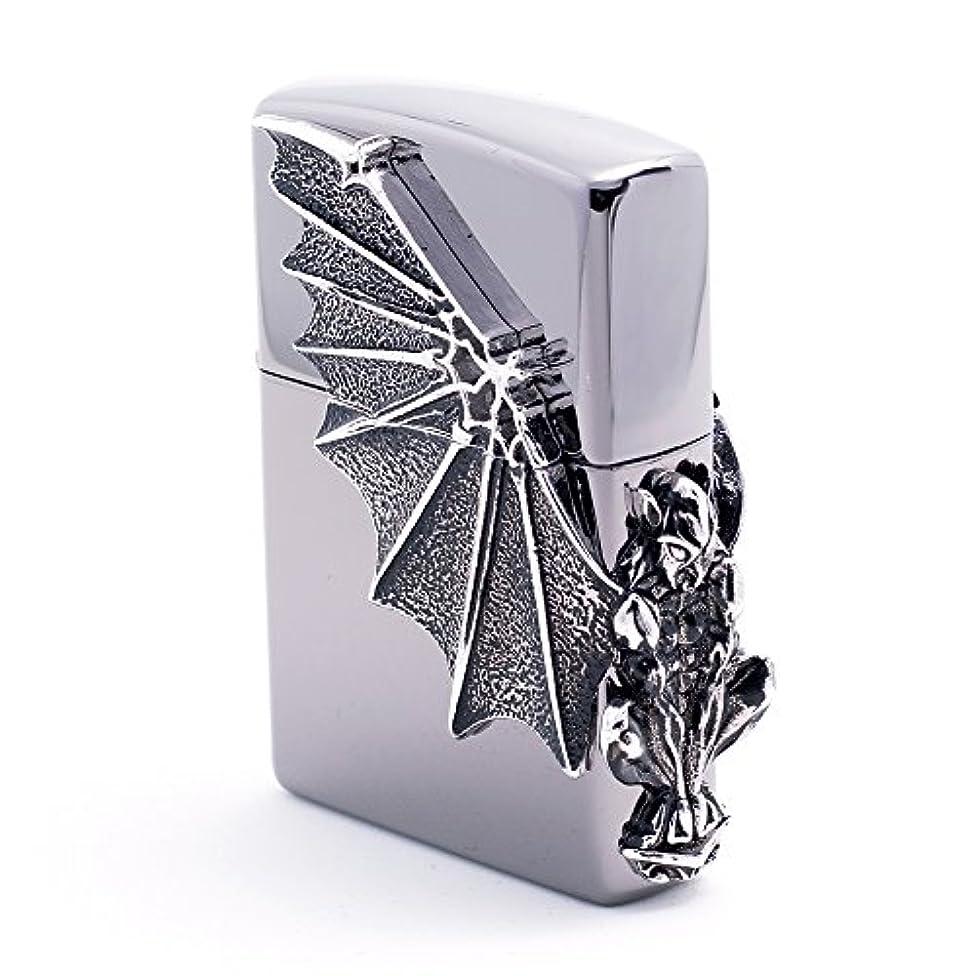 第四会計士お気に入りZippo Gargoyle2 Sl Lighter ライター / 正真正銘の本物 / オリジナルパッキング(6フリントセット フリーギフト) [並行輸入品]