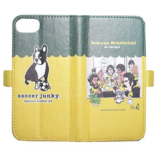[해외]soccer junky (축구 중독자) 스마호케스 iPhone6 ??| 6S | 7 VIVA! BRASIL O-SJFL7014/soccer junky (Football Junkie) Smartphone Case iPhone 6|6 S | 7 VIVA! BRASIL O - SJFL 7014