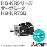 三菱電機 HG-KR73B サーボモータ HG-KRシリーズ 電磁ブレーキ付 (低慣性・小容量) (定格出力容量 0.75kW) (慣性モーメント 1.37J) NN