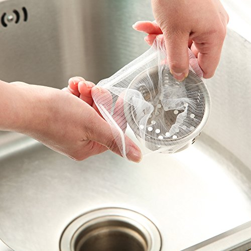 水切り ネット ストッキングネット 浅型排水口用 お買い得 増量 100枚 2個セット