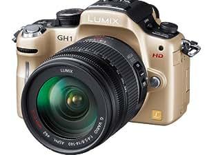 Panasonic デジタル一眼カメラ LUMIX GH1 レンズキットコンフォートゴールド DMC-GH1K-N