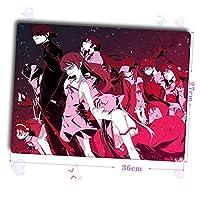 Slolita 大判マウスパッド 〈物語〉シリーズ ニセモノガタリ 阿良々木暦 あららぎ こよみ パソコン 周辺機器 マウス マウスパッド キーボードパッド おしゃれ 萌え (36cm*27cm)