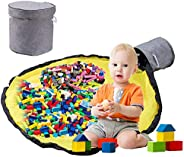 let's make Toy Storage Bag, Play Mat, Foldable, Storage Mat, Puzzle, Toy Blocks, Laundry Storage, Baby Sho